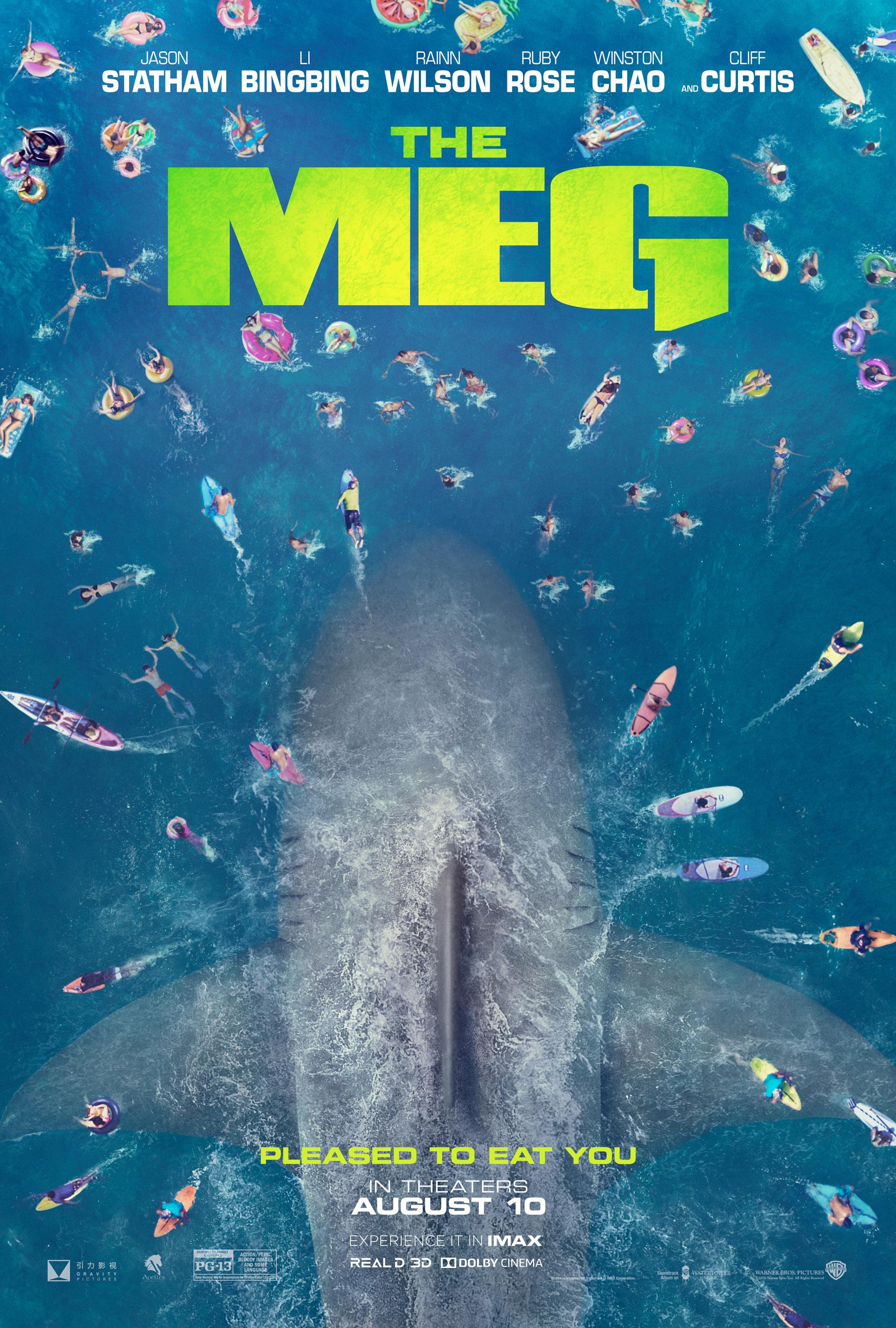 The Meg poster - Halon Entertainment previs